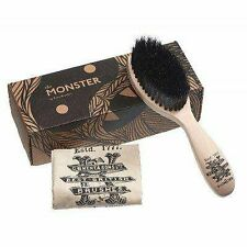 Kent BRD5 Monster Men's Beard and Mustache Brush. Comes With Cotton Bag and a Gi