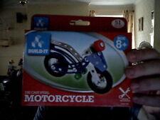 Metalcrafts MOTORCYCLE DADI BULLONI MOTO Showcase Model Bronzo Home Decor