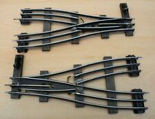 More details for vintage electric hornby o gauge 3 rail parallel points, eppl2 & eppr2 #4