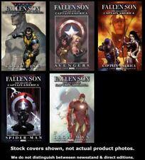 Fallen Son: The Death of Captain America 1/B 2 3/A 4 5/A  Lot 1/B-5/A FN