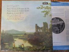 SXL 6439 Mozart Piano Sonatas K.576 & 310 etc. / Ashkenazy W/B