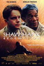 THE SHAWSHANK REDEMPTION Movie POSTER B 27x40 Tim Robbins Morgan Freeman