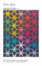 Solstice Geometric Modern Quilt Pattern by Alison Glass