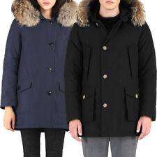 Parka homme/femme TWIG Classic manteau capuche fourrure veste