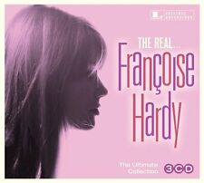Francoise Hardy REAL Best Of 37 Essential Songs ULTIMATE COLLECTION New 3 CD