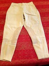 New listing Ariat Pro Series Knee Patch w/side zip breeches 28 R beige/khaki