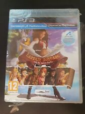 PS3 : captain morgane and the golden turtle  ( NEUF SOUS BLISTER )