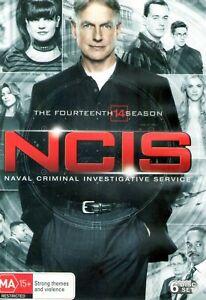NCIS SEASON 14 * 6 DISC BOX SET * 24 EPISODES * REGION 4