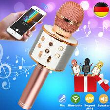 Bluetooth Karaoke Mikrofon Kabellos Mic Lautsprecher Für Kinder & Erwachsene USB