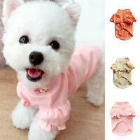 Pet Clothes Puppy Dog Warm Clothing Pullover Dog Cat Shirt Pullover Accessory
