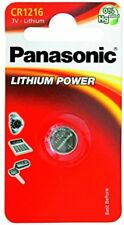 1 x Panasonic CR1216 ECR1216 DL1216 3v Lithium Battery Coin Cell Use By 2027