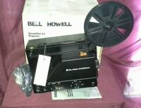 Bell & Howell SoundStar XJ Super 8mm Projector Movie Film Music Audio as is