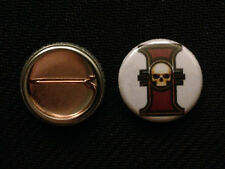 "Warhammer 40k Sisters of Battle Inquisition 1"" pin button - Buy 2 Get 1 Free"