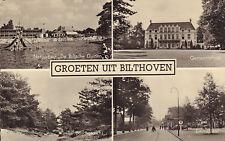 ANSICHTKAART GROETEN UIT BILTHOVEN (ca. 1957)