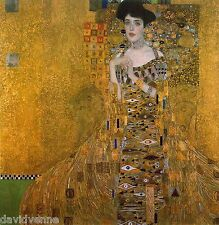 Adele Bloch Bauer by Gustav Klimt 12 x 12 inch mono deluxe Needlepoint Canvas