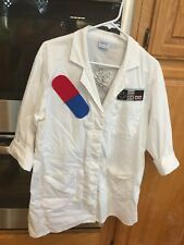 SUPER MARIO BROS DR. MARIO HOMEMADE COSTUME DOCTOR COAT