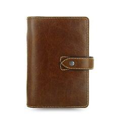 Filofax Personal Size Malden Organiser Planner Diary Ochre Leather - 025808