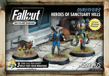 Fallout Wasteland Warfare Survivors Heroes Sanctuary Hills Miniatures MUH051245