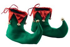 Elf fairy pixie gnome médiéval bouffon chaussures fancy dress costume couvre-chaussure neuf