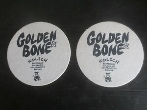 2 different GOLDEN BONE Micro Brewery 2019 Issue,New South Wales  BEER COASTERS