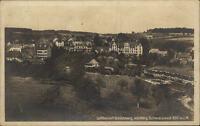 Schömberg Schwarzwald alte Ansichtskarte AK ca. ~1920/30 Teilansicht ungelaufen