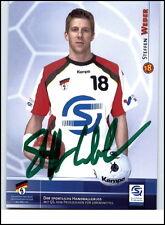 Autogrammkarte Handsigniert Original Unterschrift STEFFEN WEBER Nationalspieler