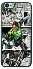 Green Lantern Super Hero Comic Design Phone Case for iPhone Samsung Google etc.