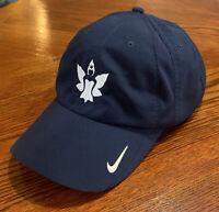 Nike Golf Navy Blue Golfing Hat Adjustable Sizing