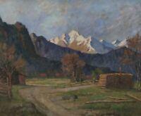 Franz Seraph HAINDL 1865 - 1931 - Blick auf die Zugspitze ?