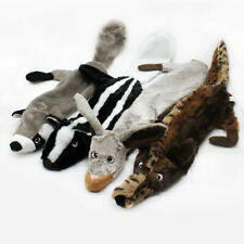 New listing No Stuffing Plush Dog Toy Indestructible Pet Puppy Sound Chew Squeaker Squeaky