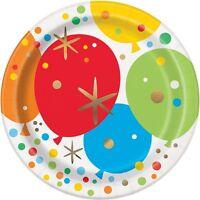 Brillante Dorado Vajilla Fiesta Desechable Cumpleaños Suministros Evento