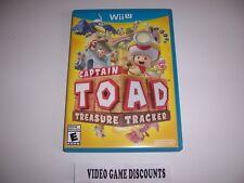 Original Box Case for Nintendo Wiiu Wii U Captain Toad Treasure Tracker