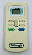 DeLonghi 1095001007 Portable Air Conditioner Remote Control