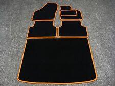 Tappetini Auto in nero/Arancio Finitura per compatibile/Volkswagen Tiguan 07-16