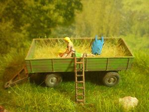 H0 Diorama HO 1:87 Heumassage zum Bauernhof Gehöft Wiese Wiking EINZELSTÜCK