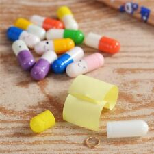 Novelty  Gift Emoticon Love Letter Writing Paper Message Pill Capsule Envelope