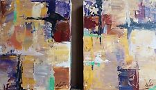 NEW MENDOZA CONTEMPORARY MODERN PAINTING CANVAS ABSTRACT EXPRESSIONISM ART