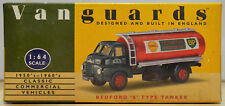 Vanguards by Lledo 1:64 VA7001 Bedford 'S' Type Tanker Shell-BP - NMIB