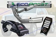 """S&B Cold Air Intake, MBRP 4"""" Cat Back Exhaust & SCT 7015 For '11-14 Ford 3.5L"""