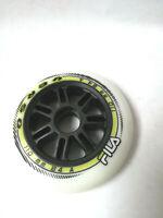 FILA 110MM/84A WHEELS WHITE Race Inline Rollen Speed 8 Stück