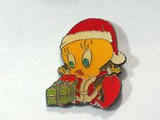 Tweety Bird Pin Christmas Lapel Pin (#35)