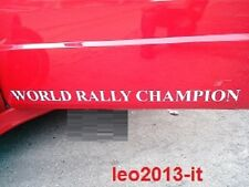 Adesivi stickers porte world rally champion lancia delta hf integrale 8-16 evo 1