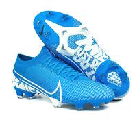 Nike Mercurial Vapor 13 Pro FG Men Size 13 Soccer Cleats Blue AT7901-414