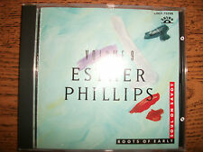 Esther Phillips-Roots Of Early Soul on Savoy-Vol 9-1993 Nippon-Japan+OBI