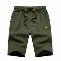 Casual Men's Cargo Shorts Summer Short Trousers Pants Pockets Beachwear Outdoor