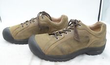 Keen Briggs Mens Sz 14 Oil Leather Hiking Trail Comfort Work Laced Sport Shoes