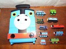 Bundle Thomas Tank Engine diecast wood Magnetic trains carry case Take n Play