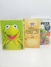 The Muppet Show Complete Seasons 1 & 2 & The Movie DVD Set Lot Disney Series
