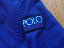 VTG Polo Sport Ralph Lauren Jacket Size L XL Hooded Spellout Snow Beach Parka