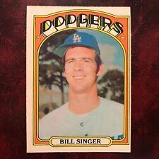 1972 O-Pee-Chee OPC Set BILL SINGER #25 LOS ANGELES DODGERS NR-MINT *HIGH GRADE*